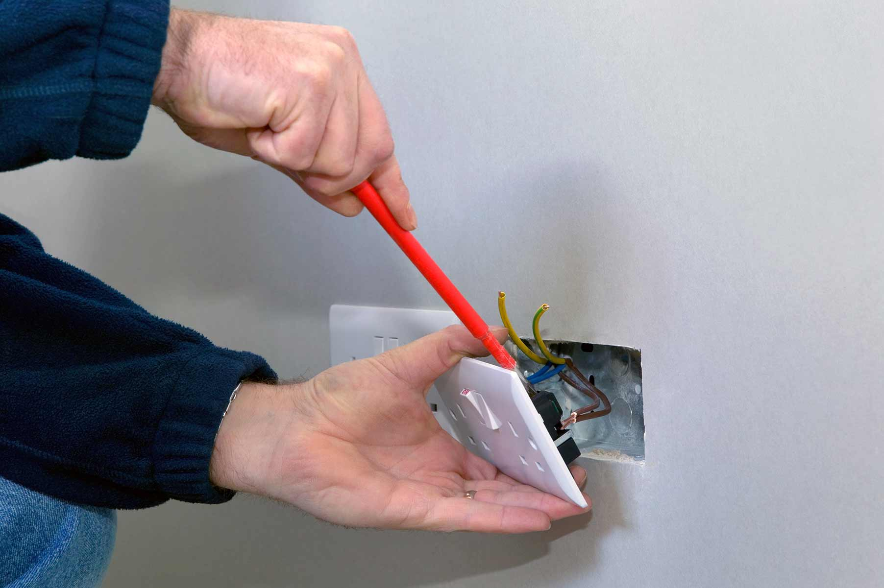 Our electricians can install plug sockets for domestic and commercial proeprties in Southall and the local area.